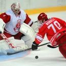 «Спартак» обыграл «Витязь» в единственном матче, состоявшемся 24 октября в КХЛ