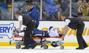 Стивен Стэмкос, получивший серьезную травму, возможно, успеет восстановиться к Олимпиаде в Сочи (видео)
