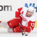 Овечкин против Дацюка. Обзор матчей с участием россиян в НХЛ (видео)