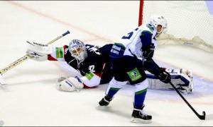 Топ-10 лучших голов недели в КХЛ (видео)