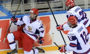 Невероятный гол Владимира Ткачева в первом матче суперсерии со Сборной Квебека (видео)