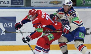 СКА неожиданно уступил на своей арене «Локомотиву» (видео)