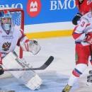 Молодежная сборная России уступила сборной Западной Лиги в шестом матче суперсерии