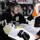 Евгений Малкин не смог забросить шайбу в «Пенсильванском дерби». Обзор матчей НХЛ за 14 ноября (видео)