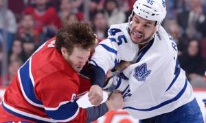 Роль тафгаев в НХЛ и статистика драк прошлого сезона