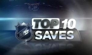 Топ — 10 лучших сэйвов недели в НХЛ (видео)