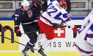 Молодежная сборная России вышла в полуфинал чемпионата мира в Мальме