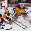 Три самых эффектных и запоминающихся сэйва игрового дня в НХЛ (видео)