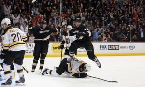 «Анахайм» вышел на первое место в регулярном чемпионате НХЛ