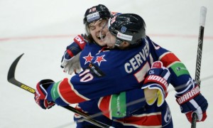 Армейцы Санкт-Петербурга обыграли обладателей Кубка Гагарина
