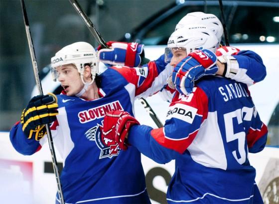 Сборная Словении — соперник России в Сочи 2014