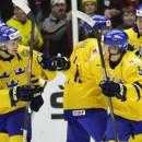Счет в матче Швеция — Россия после второго периода не изменился