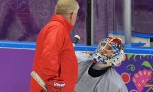 Сергей Бобровский сыграет в матче с Норвегией
