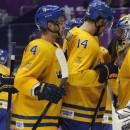 Швеция одолела Финляндию и вышла в финал олимпийского хоккейного турнира