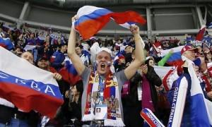 В матче Россия – Словакия счет после первого периода не открыт