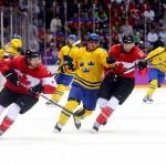 Фотогалерея: финальный матч Олимпиады в Сочи 2014