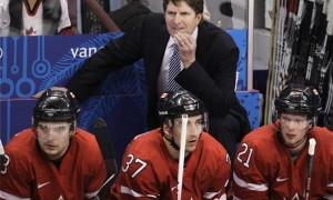 Канада после первых двух периодов не смогла забросить больше одной шайбы Латвии