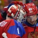 Семен Варламов встанет в ворота в матче Россия- Словакия