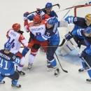 Сборная России провалила четвертьфинальный поединок против финской команды