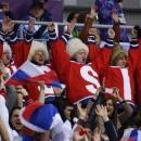 Счет в матче Россия-Словакия после второго периода — 0:0