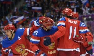 Сегодня Россия играет против США на Олимпиаде в Сочи
