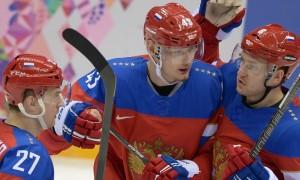 Россия победила Словению на Олимпиаде в Сочи