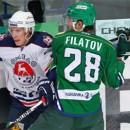 «Салават Юлаев» в овертайме добился победы над «Торпедо»