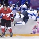 Сочи 2014: сборная Канады обыграла сборную Финляндии