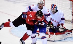Канада уверенно обыграла Норвегию на старте хоккейного турнира в Сочи