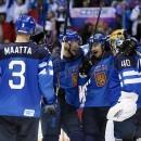 В матче Финляндия-Швеция счет 1-2 после второго периода