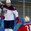 США крупно обыграла Чехию и сыграет в полуфинале с Канадой