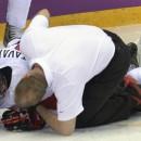 Травма Тавареса, полученная в матче с Латвией, оказалась серьезной