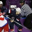 Сочи 2014: после второго периода 1-1 в матче Россия-США