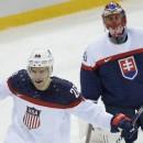 Cборная США учинила разгром Словакии на Олимпиаде в Сочи