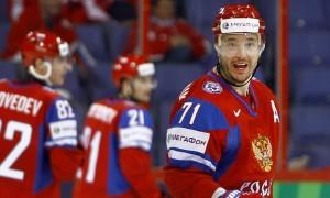Россия уступает финнам после первого периода на Олимпиаде в Сочи