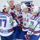 СКА одержал победу над ЦСКА и повел в серии со счетом 3:0