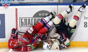 СКА разгромил «Локомотив» и сравнял счет в серии