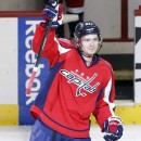 Евгений Кузнецов набрал свое четвертое очко в НХЛ
