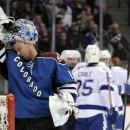 Семен Варламов провел очередной победный матч в НХЛ