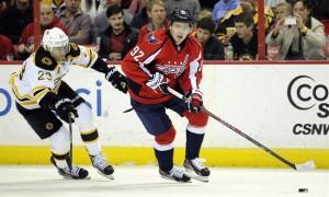 Евгений Кузнецов забросил шайбу в ворота «Бостона»