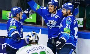 «Барыс» уверенно обыграл «Салават Юлаев» во втором матче серии плей-офф