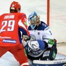 «Локомотив» забросил шесть безответных шайб в ворота обладателя Кубка Гагарина