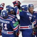 СКА выиграл первый поединок у «Локомотива» в серии плей-офф