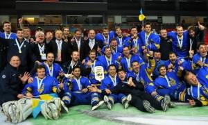 Украинская национальная сборная по хоккею