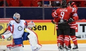 Норвегия — Канада. ЧМ — 2014. Канадцы занимают 1 место в группе
