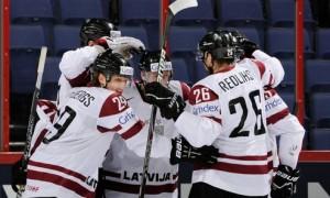 Латвия забила Франции три шайбы