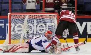 Латвия победила Словакию