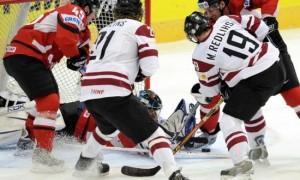 Латвия разомнется с Австрией
