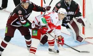 Рижское «Динамо» переигрывает «Спартак»