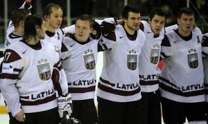 Сборная Латвии готовится к сбору